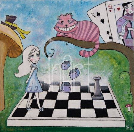 Eventyrland - Originalt maleri