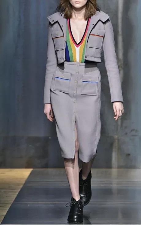 Marco de Vincenzo Fall/Winter 2015 Trunkshow Look 1 on Moda Operandi