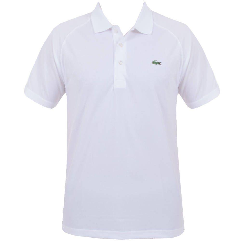 Lacoste Sport Ultra Dry Raglan Sleeve Polo White Ss16 Lacoste Sport Lacoste Raglan Sleeve