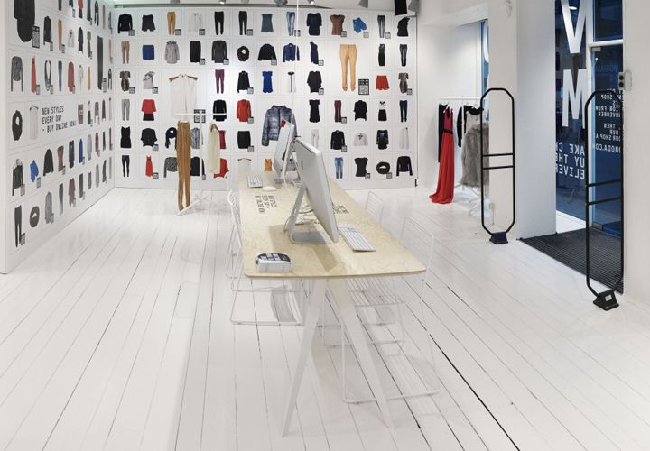 Vero Moda Online Pop Up Store Aarhus Denmark Retail Design Blog