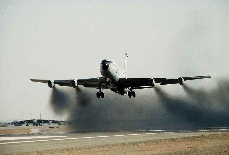 Kc135 Wet Take Off Kc 135a S Often Used Water Injected Into Their