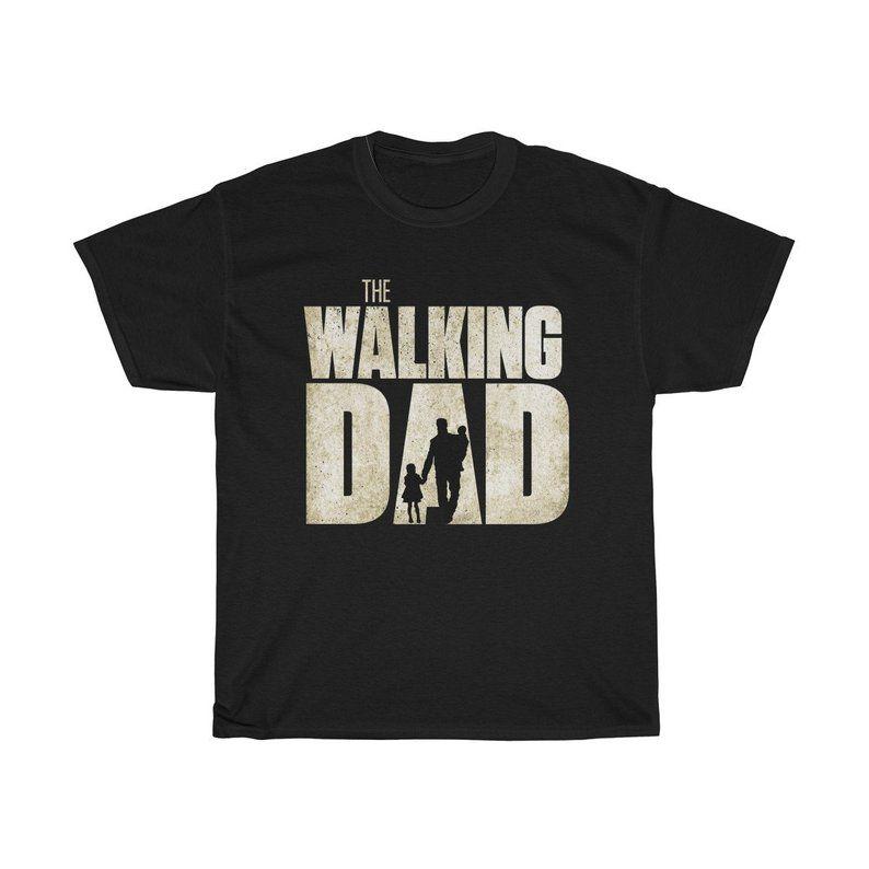 The Walking Dead Shirt The Walking Dad Shirt The Walking Dead Funny Tshirt Walking Dad Shirt The Walking Dad Dad To Be Shirts