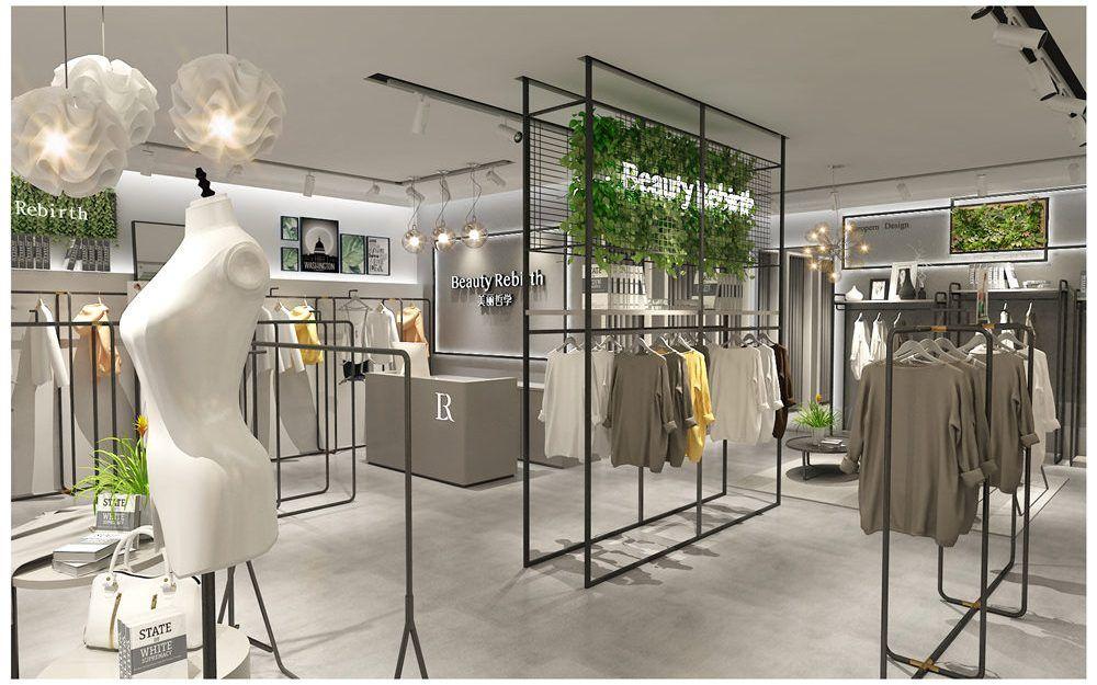 Womens Fashion Garment Clothing Store Layout Plan Design