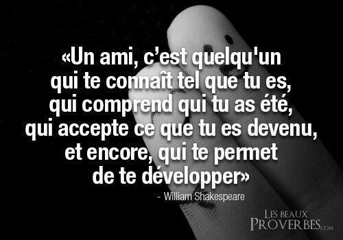 Jolie Proverbe Sur Lamitié Citation Citation Amitié Et
