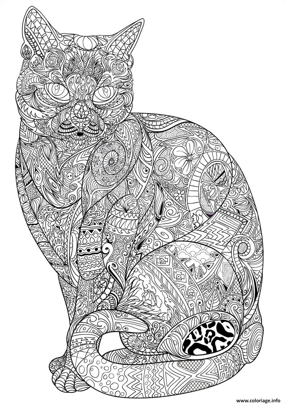 9 Ideal Coloriage Mandala Chat Gallery Coloriage Mandala Animaux Coloriage Coloriage Chat