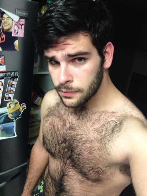men Hairy young