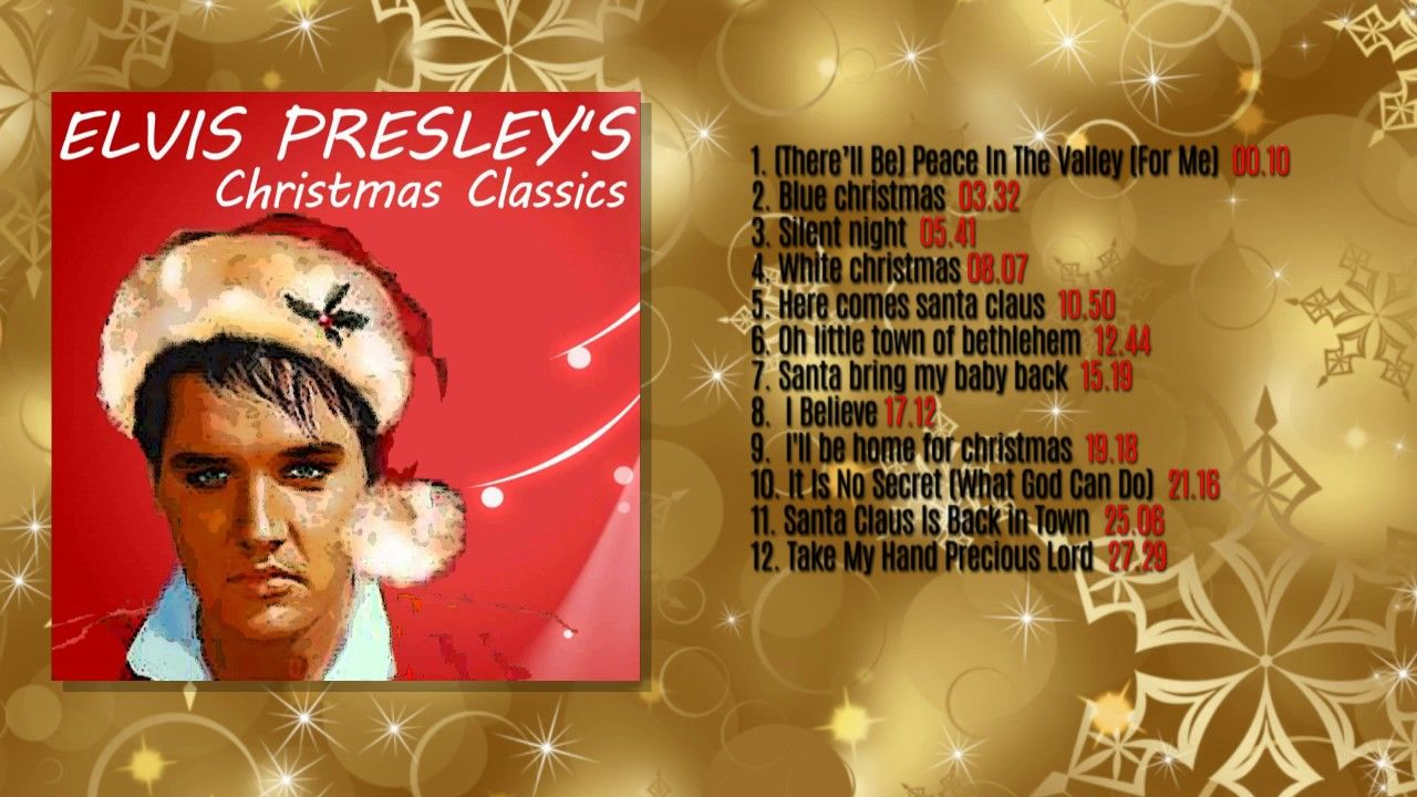 Elvis Presley\'s Christmas Classics (FULL ALBUM) - YouTube | Songs By ...