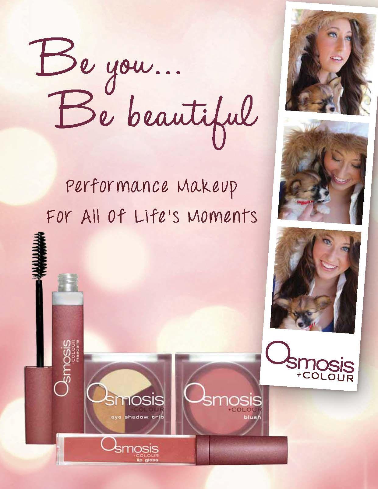 Let Osmosis Colour Makeup Nourish Your