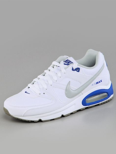 ab97f33d50a60 Nike Air Max Command Leather White Strata Grey Volt Force Soft Grey ...