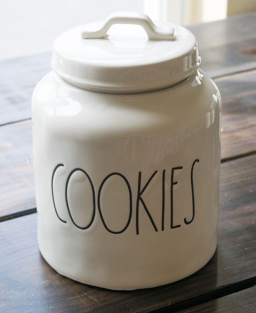 Rae Dunn By Magenta Cookies Cookie Jar Ebay Raedunn