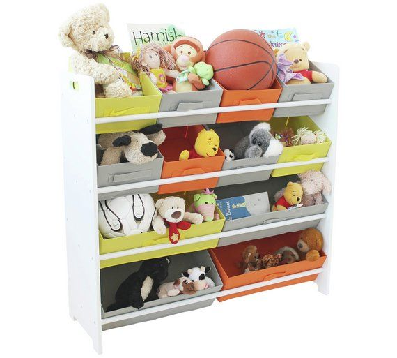 Buy HOME 4 Tier Childrens Basket Storage Unit at Argos.co.uk visit  sc 1 st  Pinterest : toy storage argos  - Aquiesqueretaro.Com