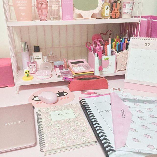 Girly Desks samsung notebook 9 metal modern pink desk | cute & girly laptops
