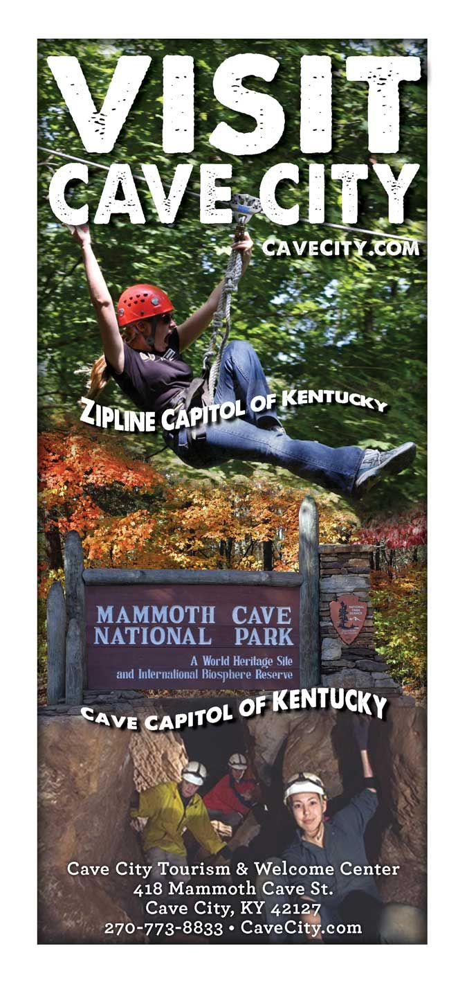 Zipline And Caves Its An Up And Down Adventure Cave City Mammoth Cave National Park Ziplining
