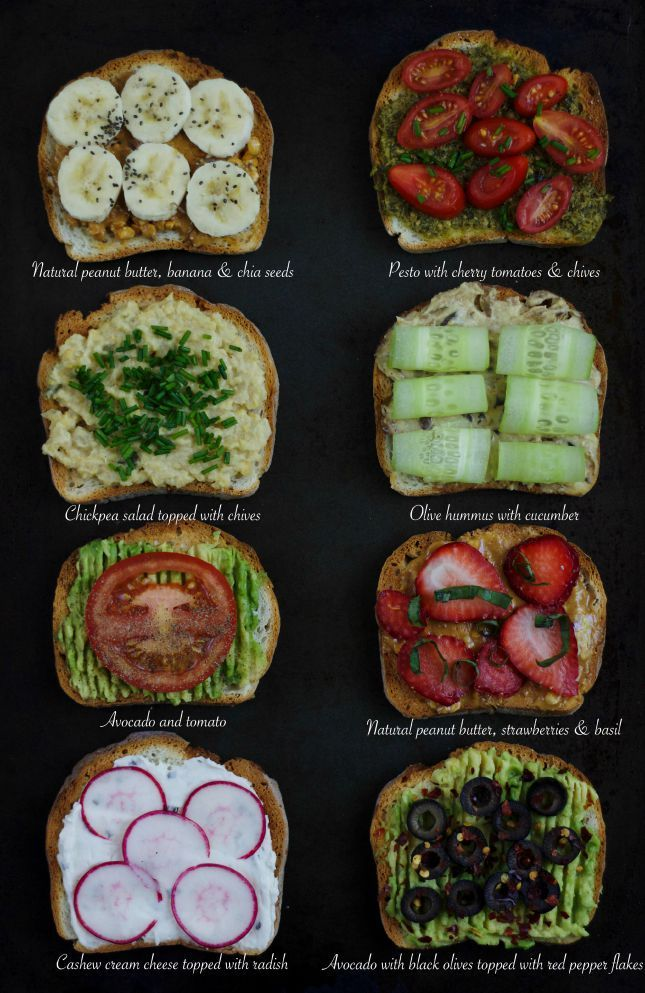 Healthy snacking 8 ideas for a vegan sandwich , Thirteen Thoughts