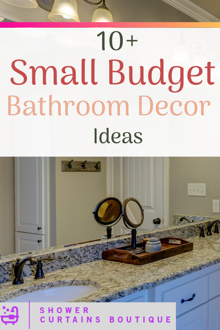 Bathroom Decor Ideas On A Budget With Images Bathroom Decor Small Bathroom Decor