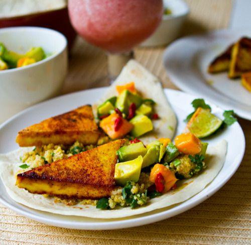 Chef Tess Talbert -chipotle citrus superfood vegan tacos