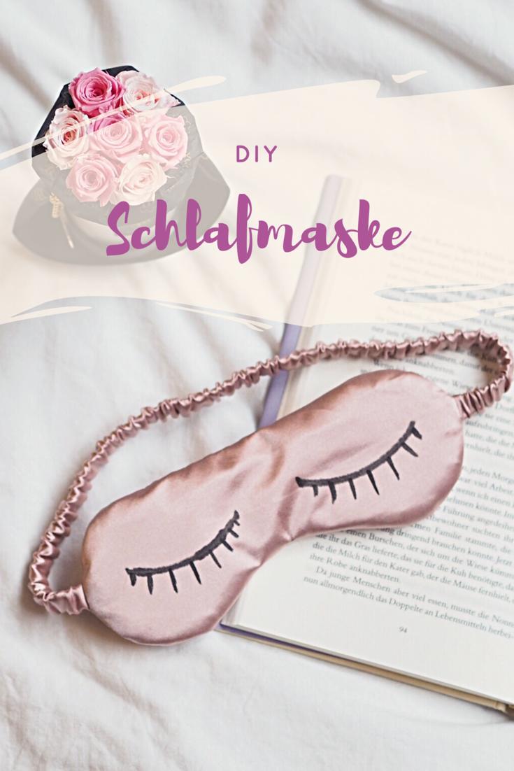 Diy Schlafmaske / Sleeping mask. Kleine Geschenke aus Stoff ...