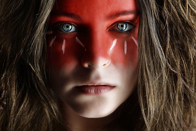 War Paint War paint, Tribal face paints, Tribal face