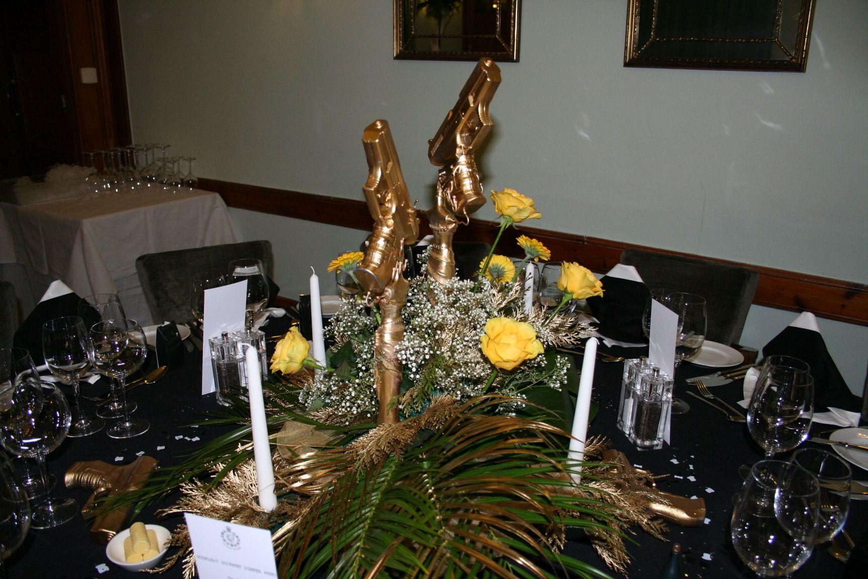 Golden Gun Table