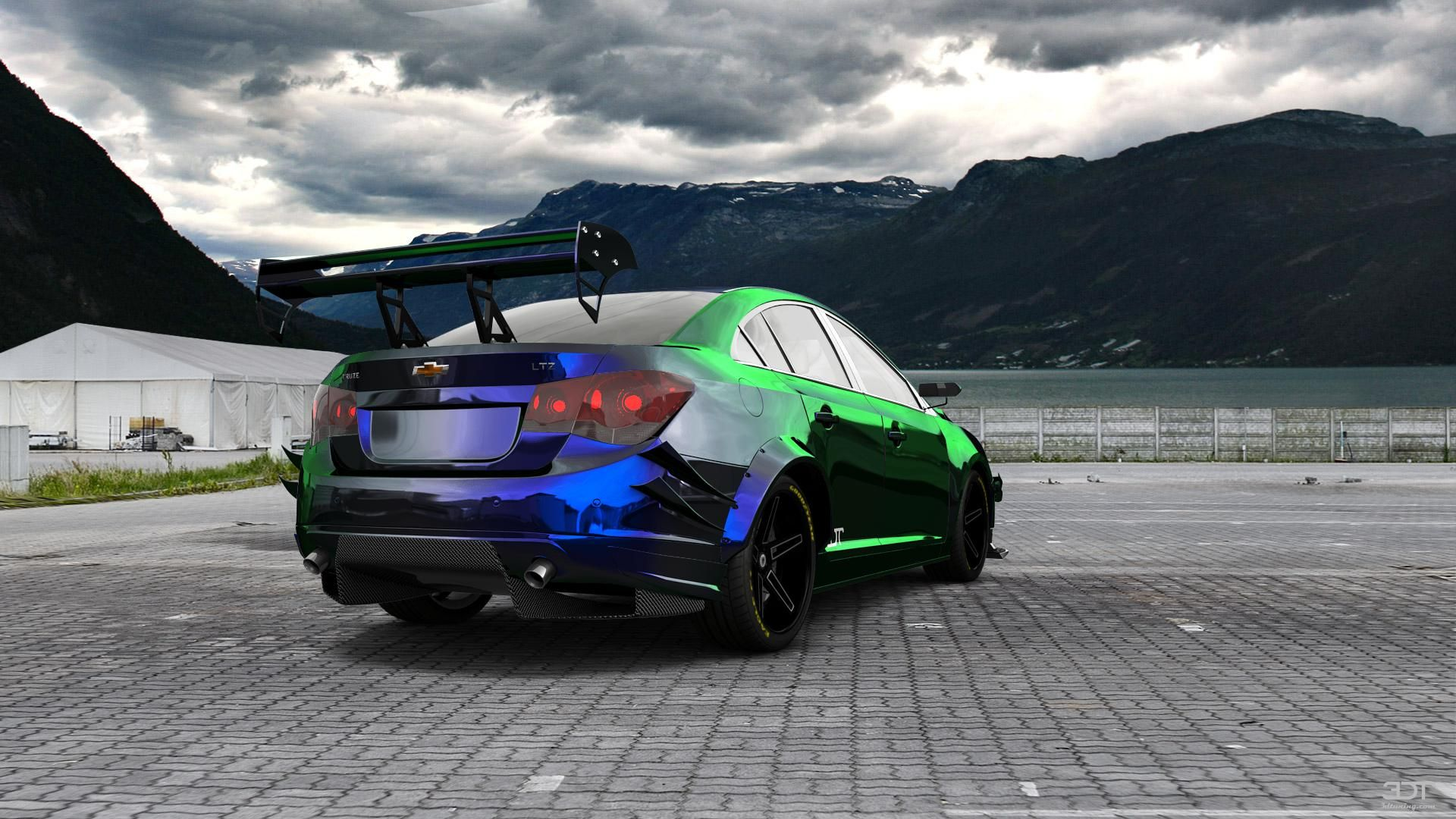 Checkout My Tuning Chevrolet Cruze 2012 At 3dtuning 3dtuning