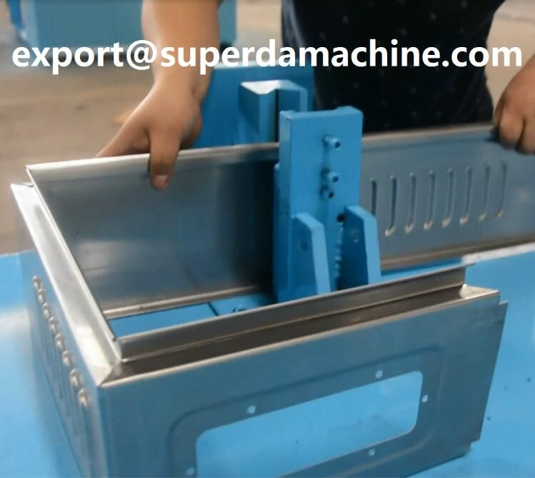 Electrical Distribution Box Production Line Metal Sheet Design Metal Forming Roll Forming