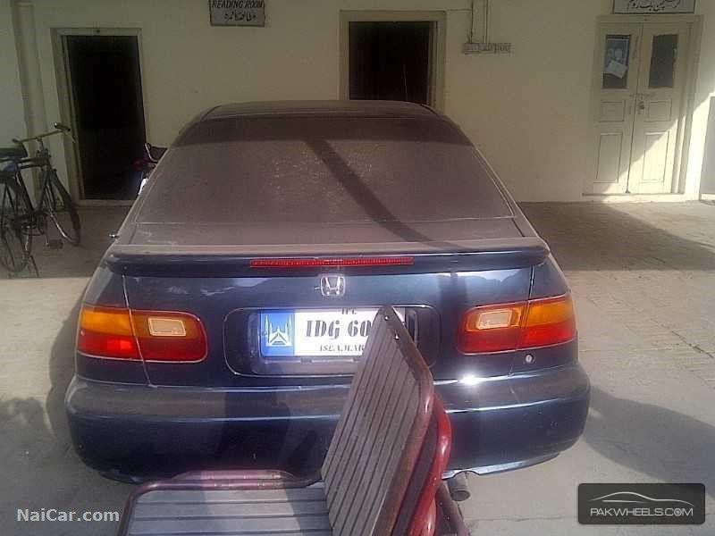 Honda Civic 1995 For Sale In Rawalpindi Pakistan 4396 Honda