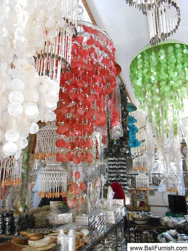 Seashell chandelier wholesale from bali indonesia small 1245 cm lights seashell chandelier aloadofball Choice Image