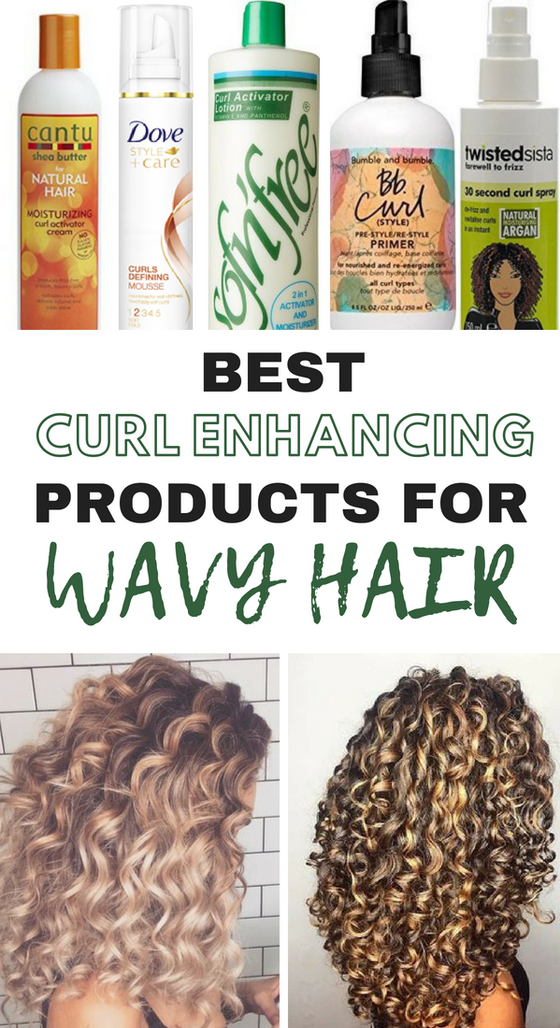 The 10 Best Curl Enhancing Products For Wavy Hair Society19 Uk Curly Hair Styles Natural Hair Styles Natural Wavy Hair