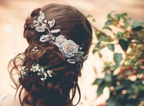 Couture Bridal Head Piece