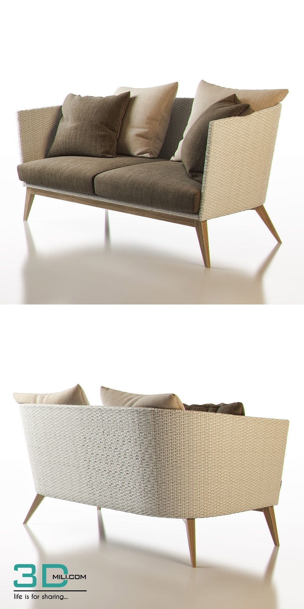 159. Point Arc Outdoor 2 Seater Sofa