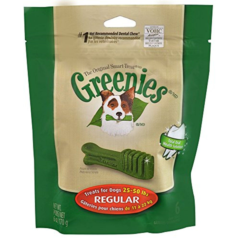 Greenies treats for dogsmini treatpakregular 6 oz the