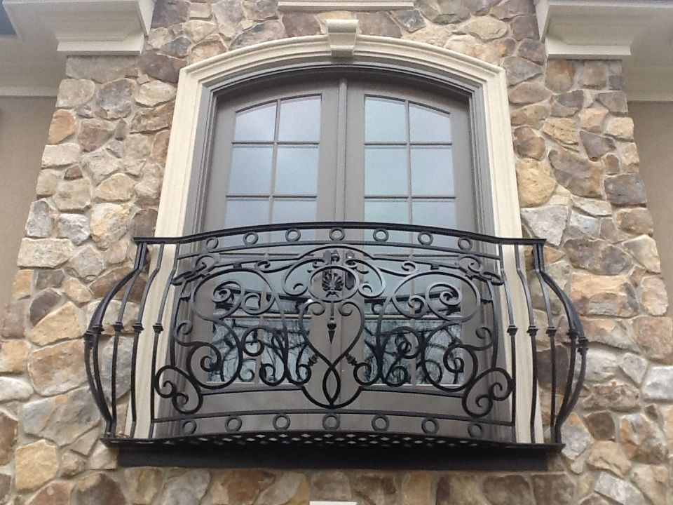 Inspirational Faux Iron Balcony