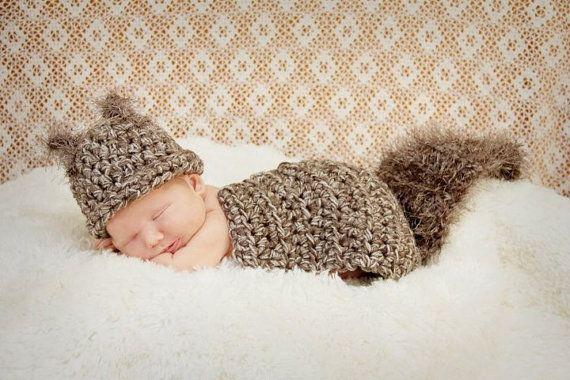 Sleeping Cutie Newborn Baby Girl//Boy Crochet Knit Costume Photo Photography