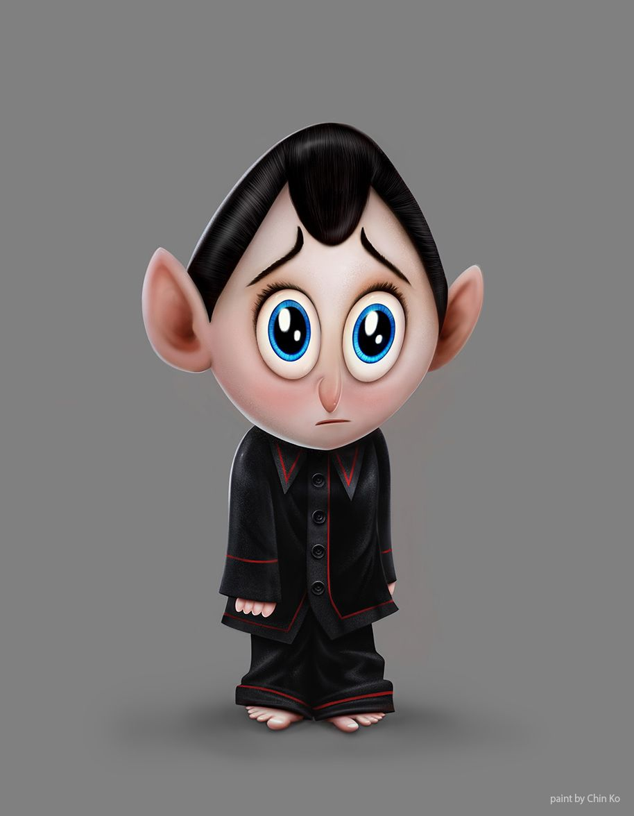 Secondbrush Hotel Transylvania 2 Character In
