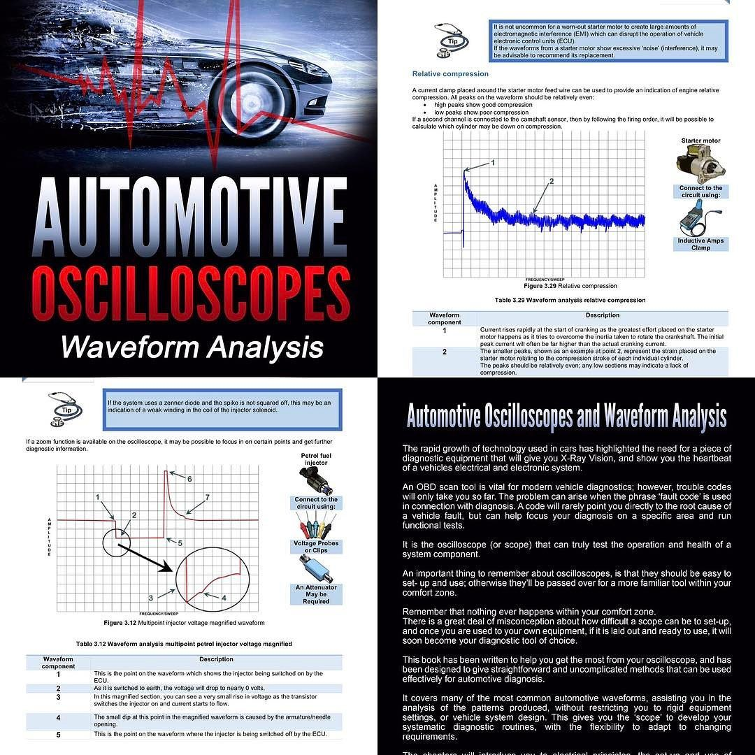 automotive #oscilloscope & #waveform #analysis available