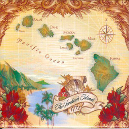 Souvenir Magnet B Mag 2x3 Island Chain