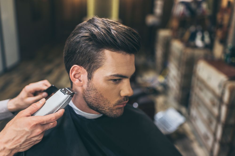 Latest Men Hairstyles At The Ultimate Barber Haircuts For Men Hair Loss Men Mens Haircuts Fade