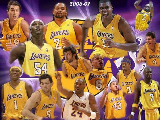Losangeleslakers Lakers Team Los Angeles Lakers Lakers