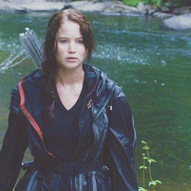 Katniss in arena