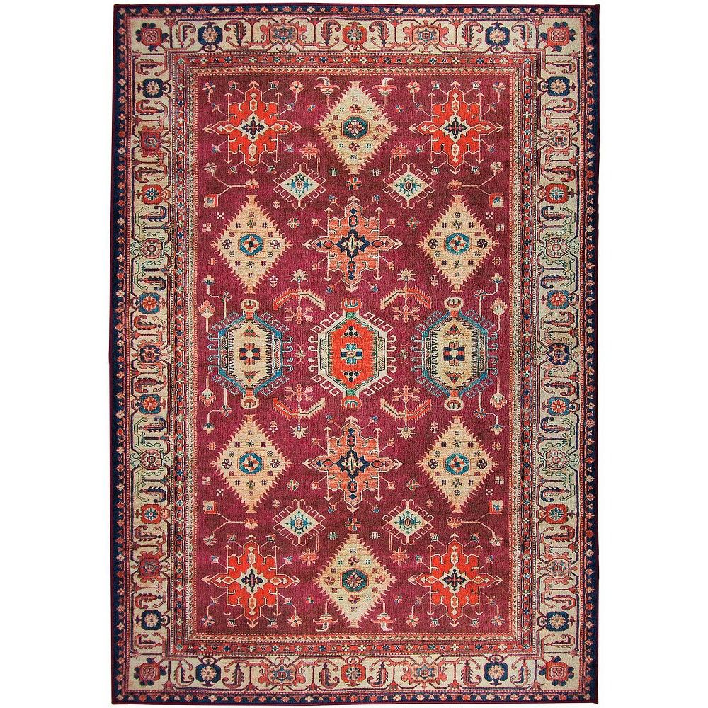 Ruby Diamond Woven Area Rug 5 X7 Ruggable In 2020 With Images
