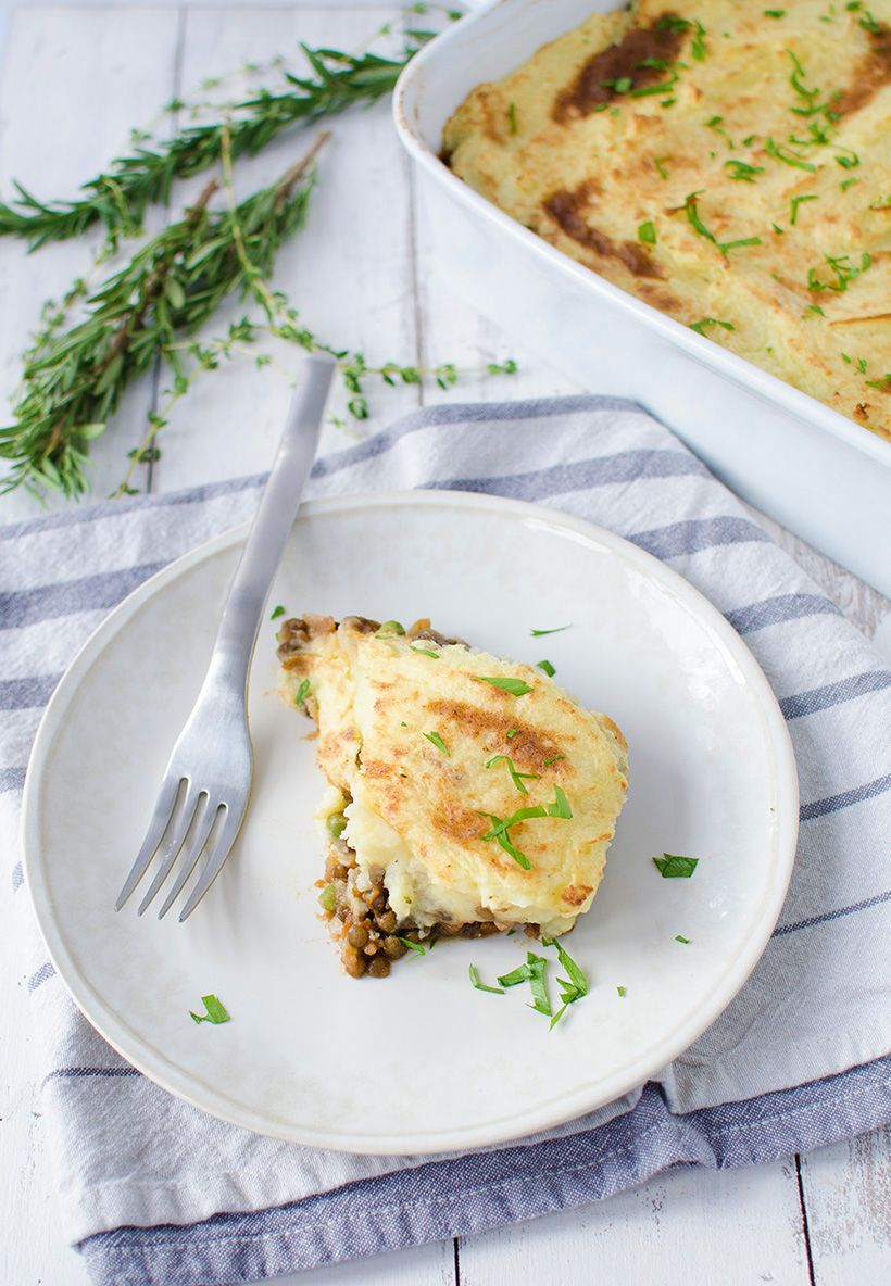 Foolproof Recipes for Thanksgiving: lentil shepherd's pie