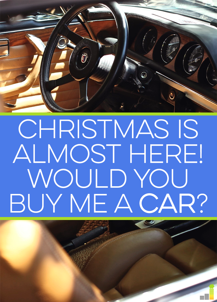 Christmas is Almost Here! Would You Buy Me a Car | Pinterest | Tv ...