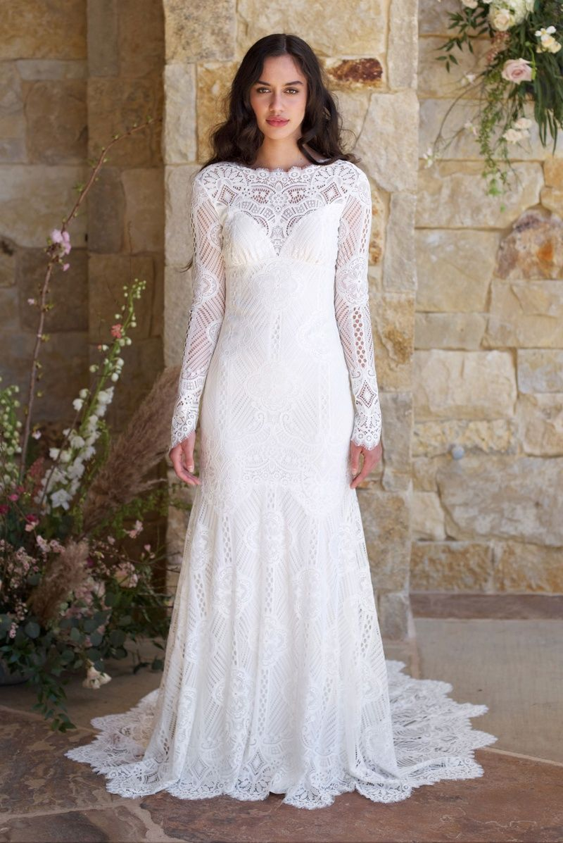 Breathtaking gowns from claire pettibone romantique spring