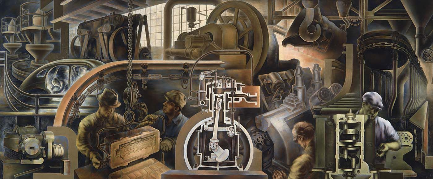 Automotive Industry (1940) Marvin Beerbohm. The Works