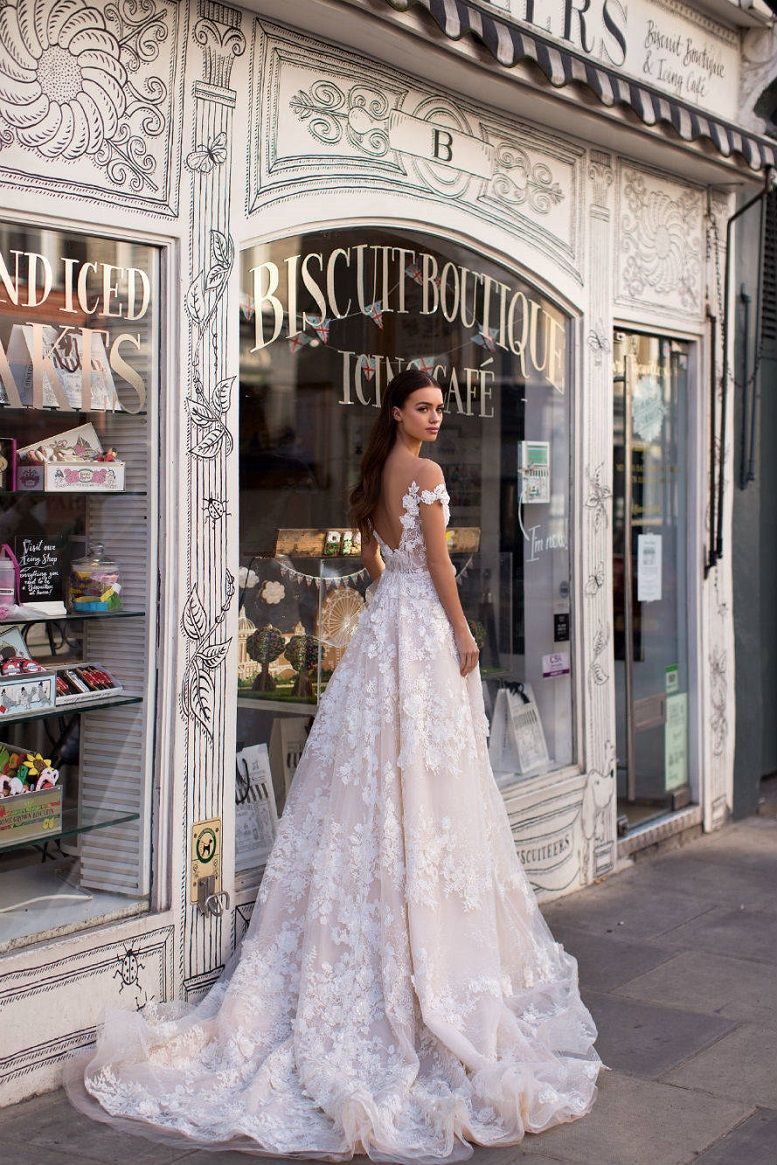Milla Nova Blooming London Bridal Collection, Mermaid wedding dress,wedding dresses,beautiful wedding dress,nude wedding dress, heavy embellishment wedding dress #weddingdress #weddinggown