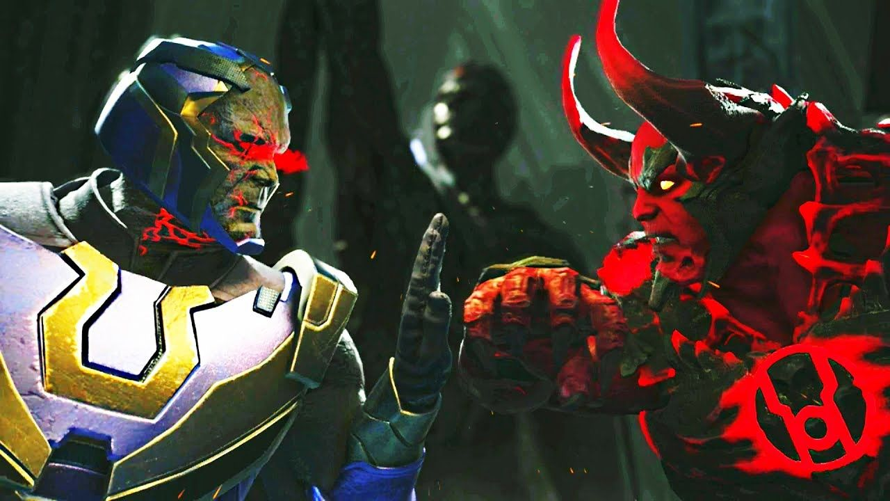Injustice 2 Darkseid Vs Atrocitus All Intro Dialogue Clash Quotes And Darkseid Injustice 2 Injustice