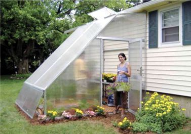 Solar star lean-to, Lean to Greenhouse, Lean-to Greenhouse-Gothic ...