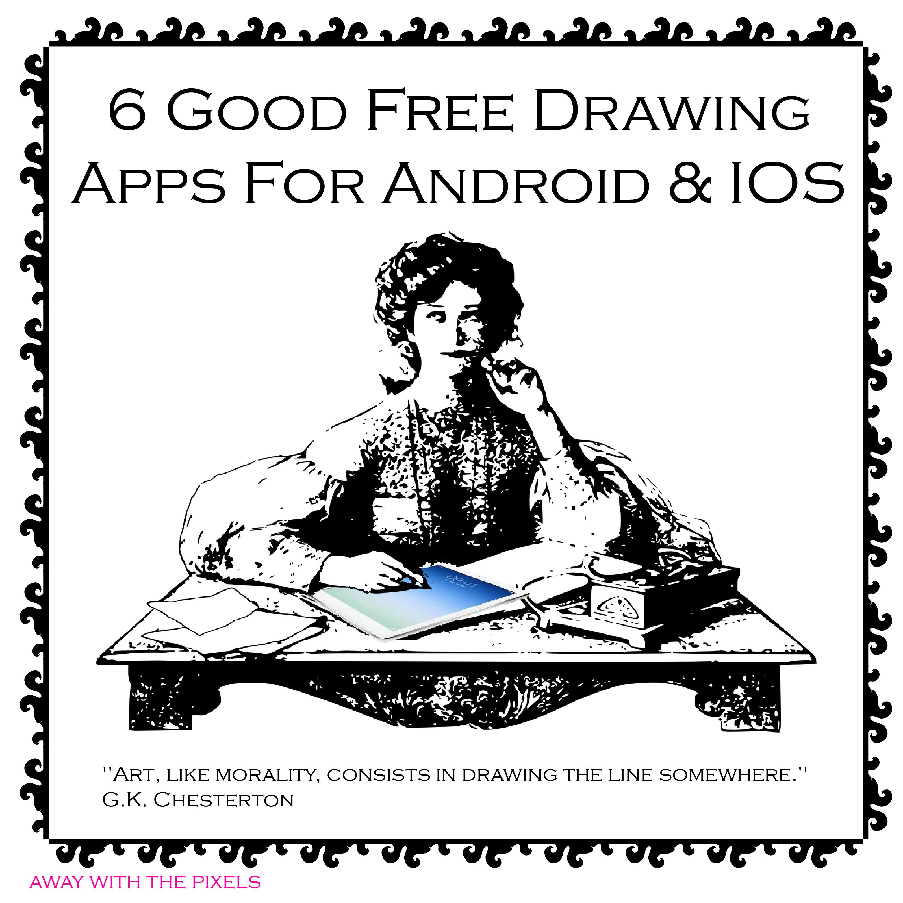 6 good free drawing and painting apps with images