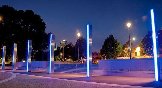 Landscape Lighting | Urban lighting, Luxury landscaping ...