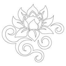 Image result for Lotus flower template printable | EMBROIDERY ...